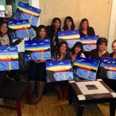 Paint Nite, a tour attraction in San Jose United States