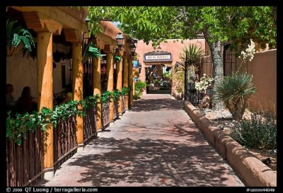 Old Town, a tour attraction in Albuquerque United States