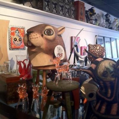Stranger Factory - Fine Art Gallery + Designer Toys, a tour attraction in Albuquerque United States