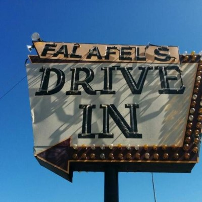Falafel's Drive-In, a tour attraction in San Jose United States