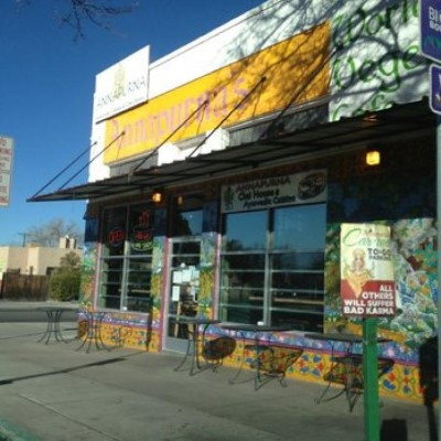 Annapurna's World Vegetarian Café, a tour attraction in Albuquerque United States