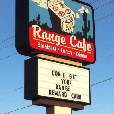 Range Cafe, a tour attraction in Albuquerque United States