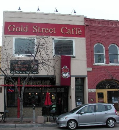 Gold Street Caffe, a tour attraction in Albuquerque United States
