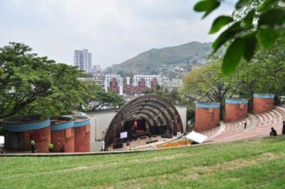Teatro al aire libre , a tour attraction in Cali Colombia