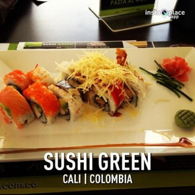 Sushi Green, a tour attraction in Cali Colombia