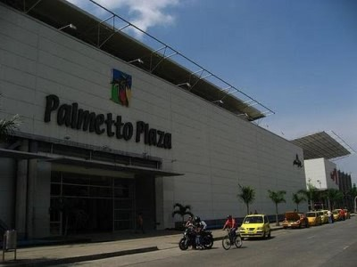 Centro Comercial Palmetto Plaza, a tour attraction in Cali Colombia