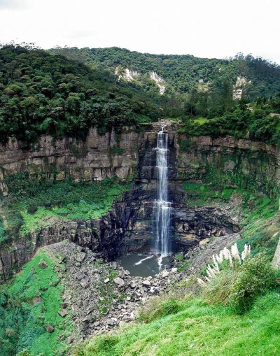 Tequendama, a tour attraction in Bogota, Colombia