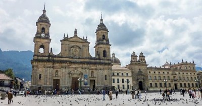 Plaza de Bolívar, a tour attraction in Bogota, Colombia