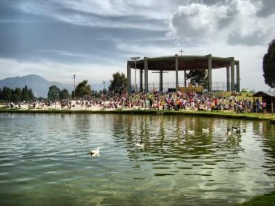 Parque Metropolitano Simón Bolívar, a tour attraction in Bogota, Colombia