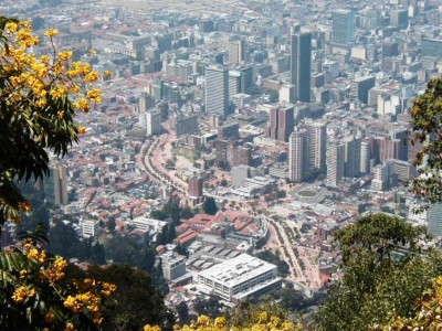 Funicular de Monserrate, a tour attraction in Bogota, Colombia