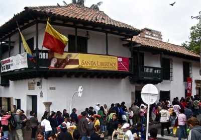 Museo 20 De Julio, a tour attraction in Bogota, Colombia