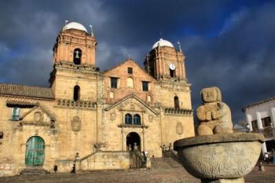 Iglesia Veracruz Panteón Nacional, a tour attraction in Bogota, Colombia