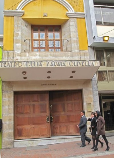 Teatro Delia Zapata, a tour attraction in Bogota, Colombia