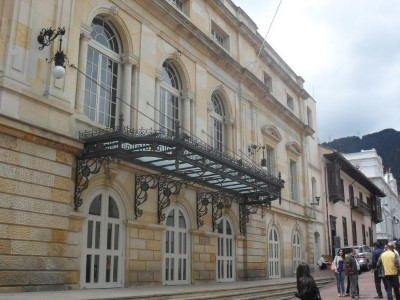 Teatro La Candelaria, a tour attraction in Bogota, Colombia