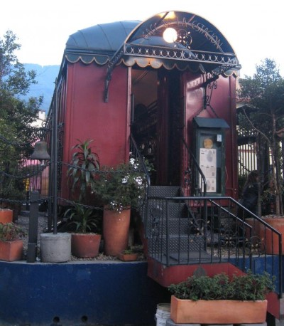 cafe de la estacion, a tour attraction in Bogota, Colombia