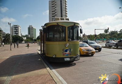 City Trolley Tour, a tour attraction in Cartagena - Bolivar, Colombia