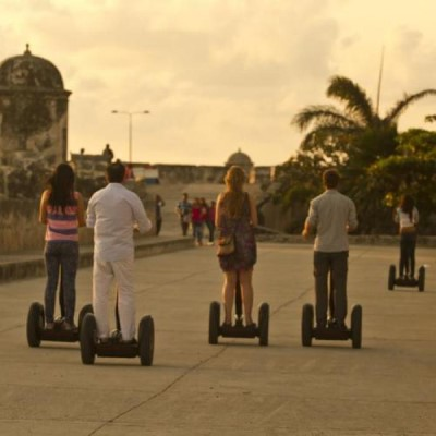 Roll in Segway, a tour attraction in Cartagena - Bolivar, Colombia