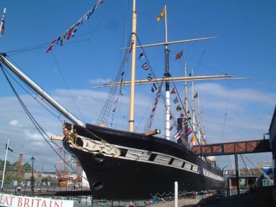 SS Great Britain, a tour attraction in Bristol, United Kingdom