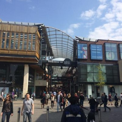 Cabot Circus, a tour attraction in Bristol, United Kingdom