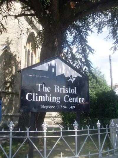 The Bristol Climbing Centre, a tour attraction in Bristol, United Kingdom