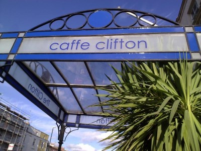 Caffe Clifton, a tour attraction in Bristol, United Kingdom