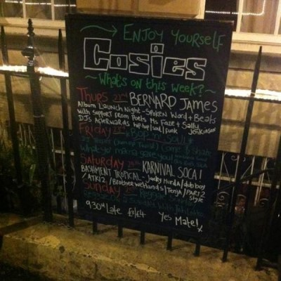 Cosies Wine Bar, a tour attraction in Bristol, United Kingdom