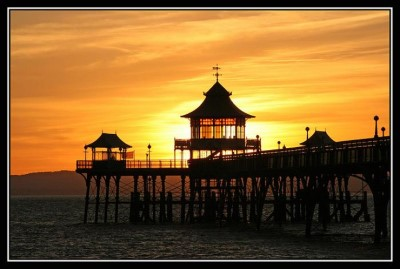 Clevedon. North Somerset., a tour attraction in Bristol, United Kingdom