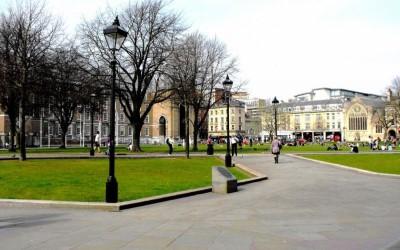 College Green, a tour attraction in Bristol, United Kingdom