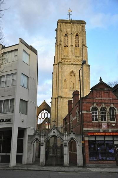 Temple Church, a tour attraction in Bristol, United Kingdom