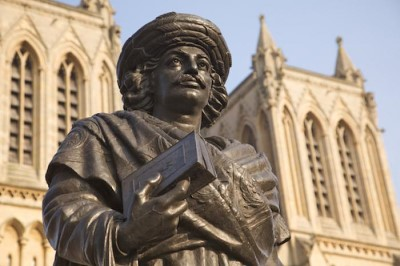 Rajah Rammohun Roy Statue, a tour attraction in Bristol, United Kingdom