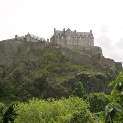 Edinburgh Castle, a tour attraction in Edinburgh, United Kingdom