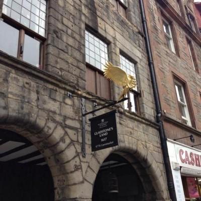 Gladstone's Land, a tour attraction in Edinburgh, United Kingdom