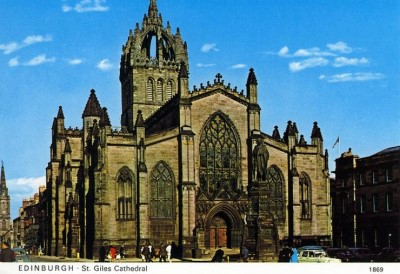 St Giles' Cathedral, a tour attraction in Edinburgh, United Kingdom
