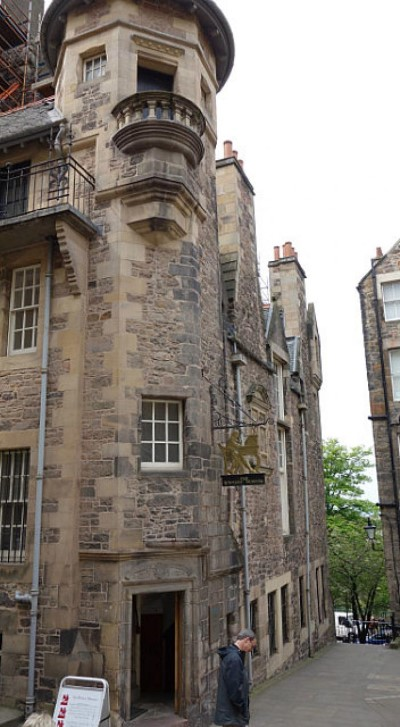 The Writers' Museum, a tour attraction in Edinburgh, United Kingdom