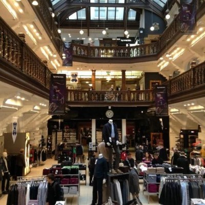 Jenners (House of Fraser), a tour attraction in Edinburgh, United Kingdom