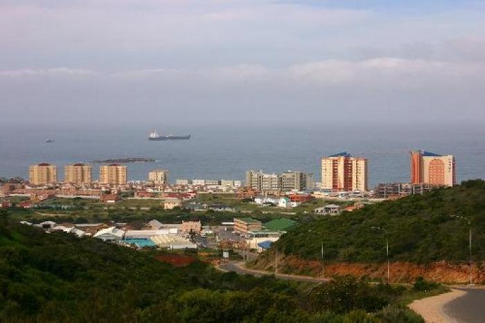 The town of Mossel Bay, a tour attraction in The Garden Route South Africa
