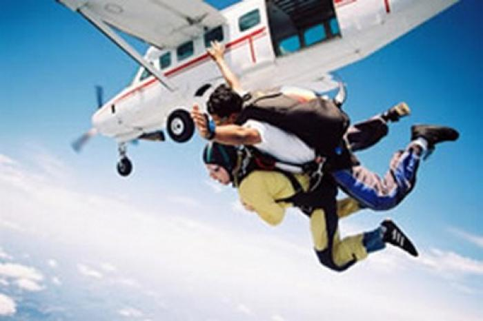Mossel Bay Sky Diving, a tour attraction in The Garden Route South Africa