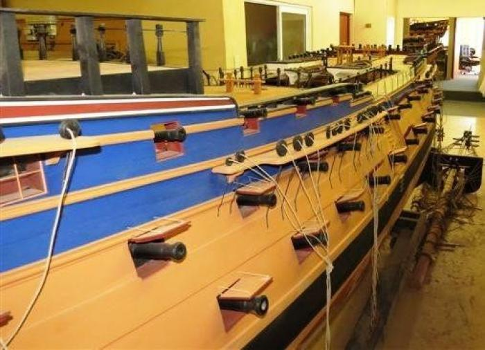 The Model Shipyard, a tour attraction in The Garden Route South Africa