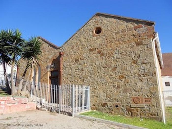 The old Masonic Lodge of St. Blaize, a tour attraction in The Garden Route South Africa