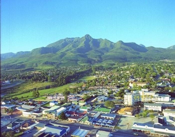 The city of George, a tour attraction in The Garden Route South Africa