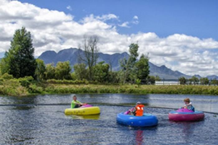 Redberry Farm Bumper Boats, a tour attraction in The Garden Route South Africa
