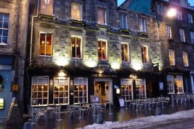 The Beehive Inn, a tour attraction in Edinburgh, United Kingdom