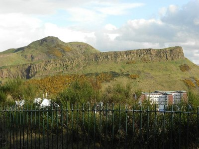 Arthur's Seat, a tour attraction in Edinburgh, United Kingdom