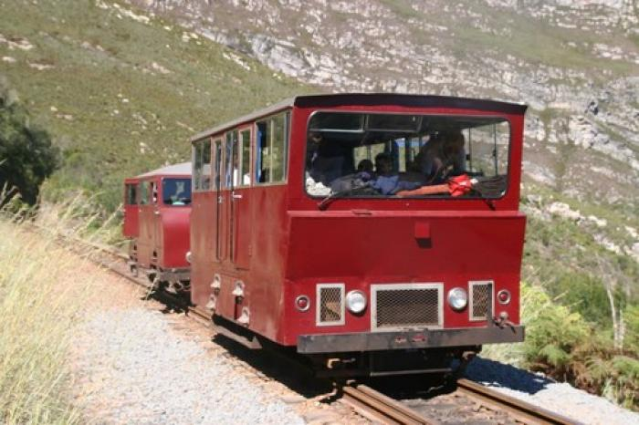 Outeniqua Power Van, a tour attraction in The Garden Route South Africa