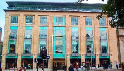 Harvey Nichols, a tour attraction in Edinburgh, United Kingdom