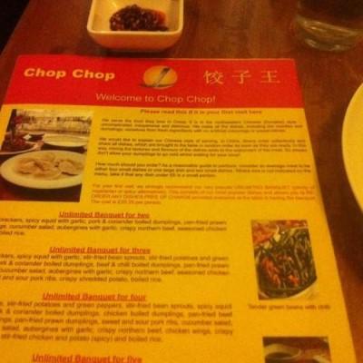 Chop Chop, a tour attraction in Edinburgh, United Kingdom