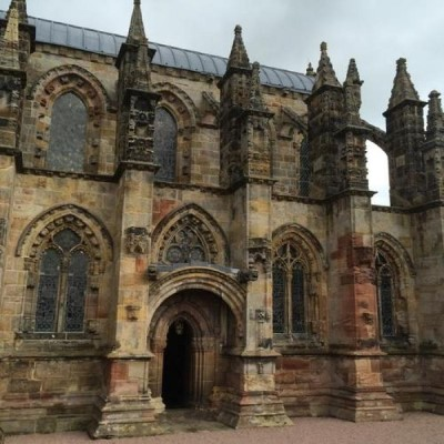 Rosslyn Chapel, a tour attraction in Edinburgh, United Kingdom