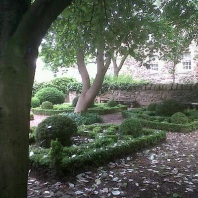 Dunbar's Close Garden, a tour attraction in Edinburgh, United Kingdom