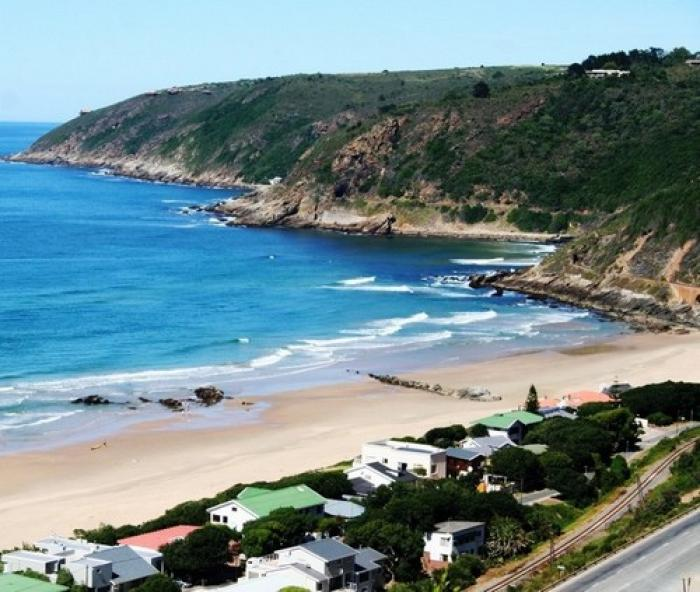 The town of Wilderness, a tour attraction in The Garden Route South Africa