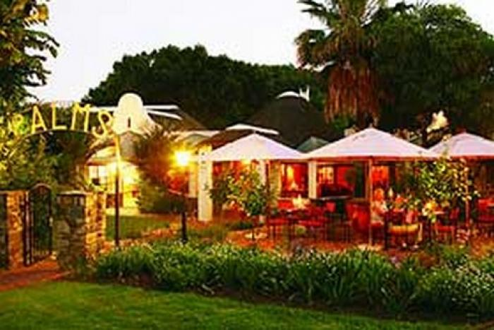 The Palms restaurant, a tour attraction in The Garden Route South Africa